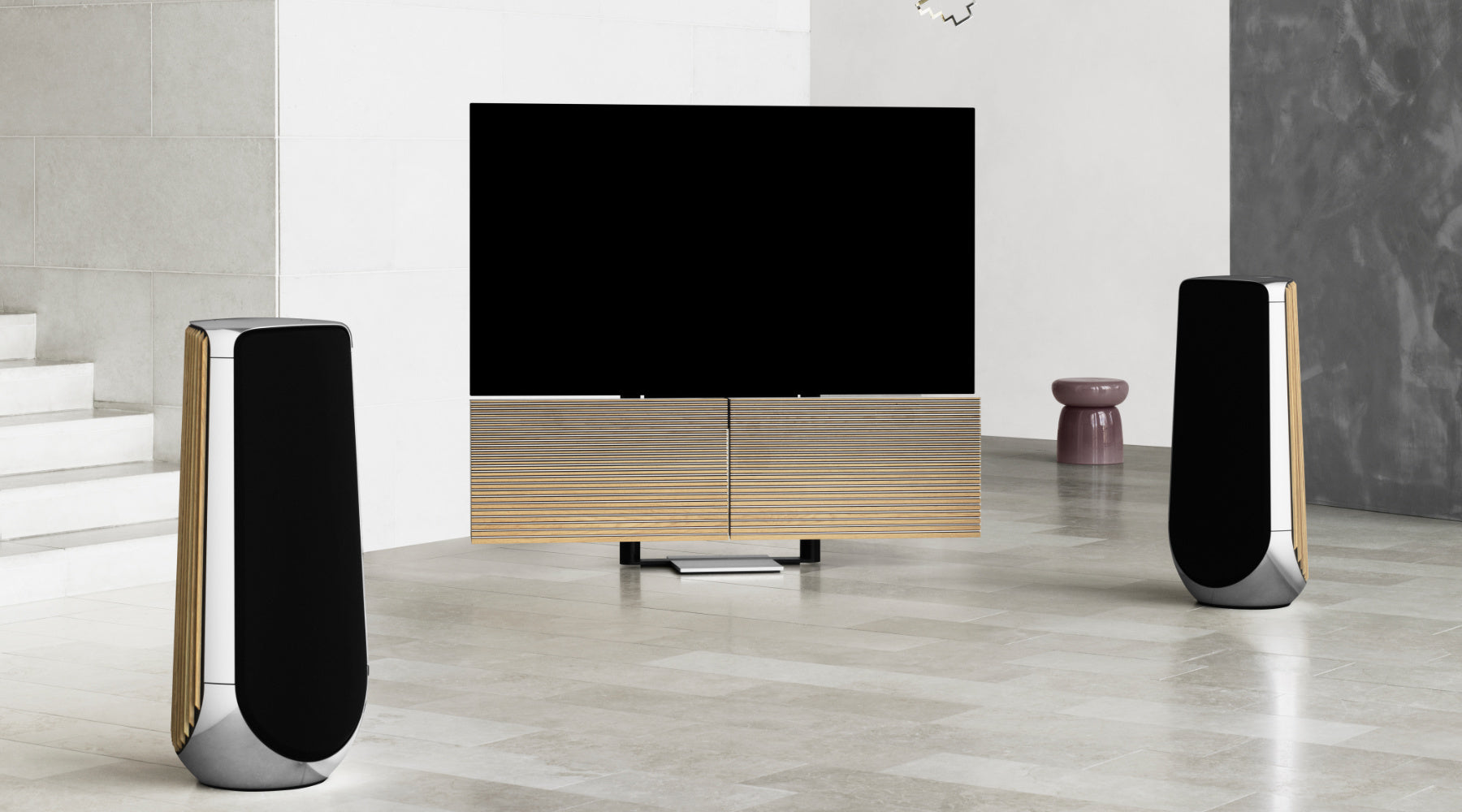 Bang & Olufsen BeoVision and Speakers Lifestyle