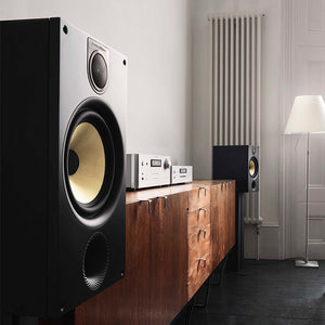 Bowers & Wilkins Bookshelf Speakers Setup