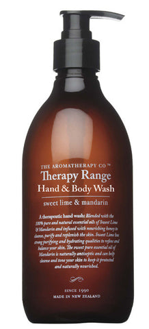 Therapy Range Hand and Body Wash by The Aromatherapy Co