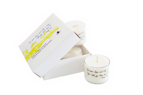 Little Inspirations Candles,set of 4