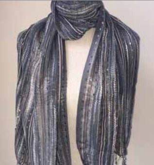 Mixed Metals Scarf