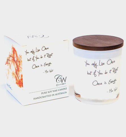 Crackle Wick Inspirations Candles