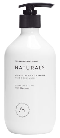 Naturals Range Hand & Body Wash by The Aromatherapy Co
