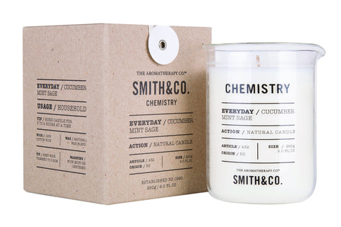 Chemistry Candle by Smith & Co fromThe Aromatherapy Co