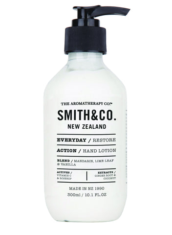 Hand Lotion Restore by Smith & Co from The Aromatherapy Co