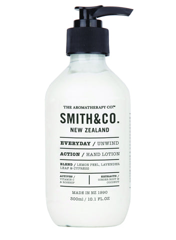 Hand Lotion Unwind by Smith & Co from The Aromatherapy Co