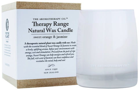 Therapy Range Candle by The Aromatherapy Co