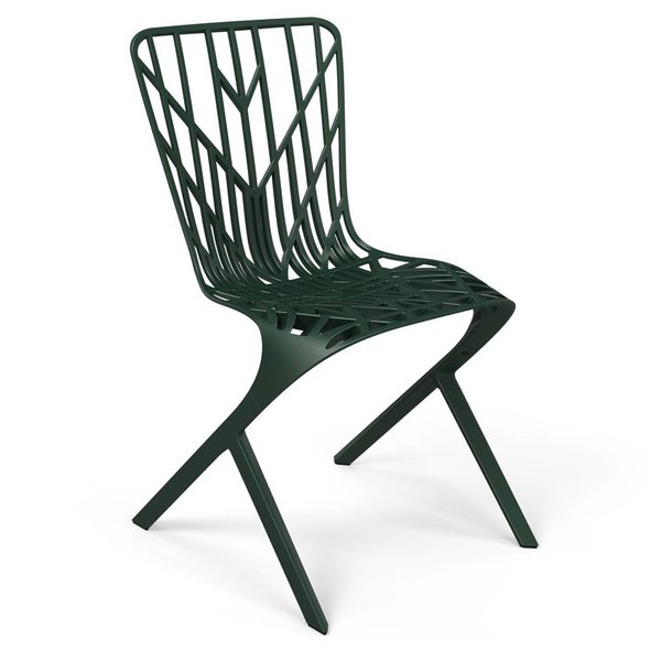 Knoll - Washington Skeleton™ Aluminum Side Chair - Lekker Home - 5