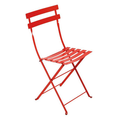 Bistro Metal Folding Chair (Set of 2)