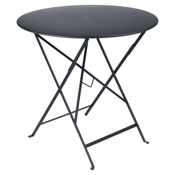 "Fermob - Bistro Folding Round Table - Anthracite / 30"" - Lekker Home"