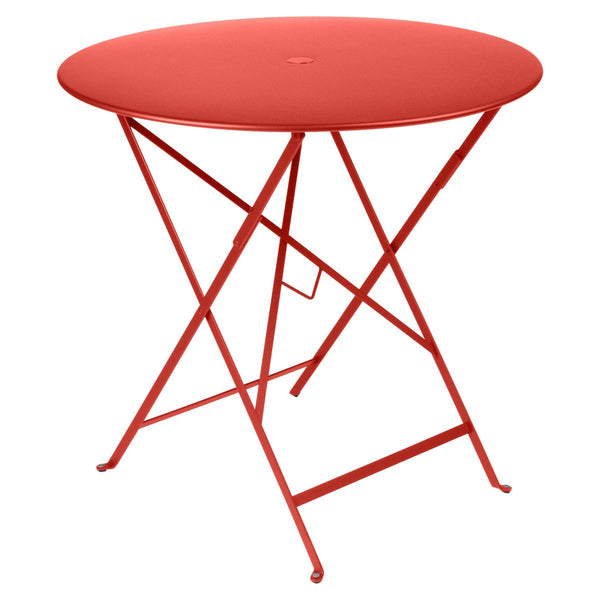 "Fermob - Bistro Folding Round Table - Capucine / 30"" - Lekker Home"