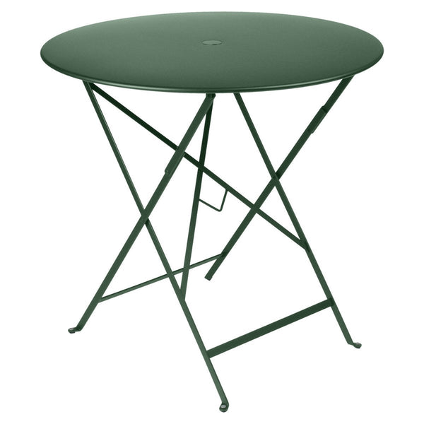 "Fermob - Bistro Folding Round Table - Cedar Green / 30"" - Lekker Home"