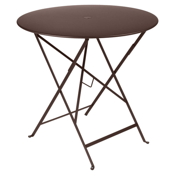 "Fermob - Bistro Folding Round Table - Russet / 30"" - Lekker Home"