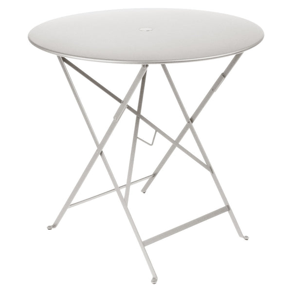 "Fermob - Bistro Folding Round Table - Steel Grey / 30"" - Lekker Home"