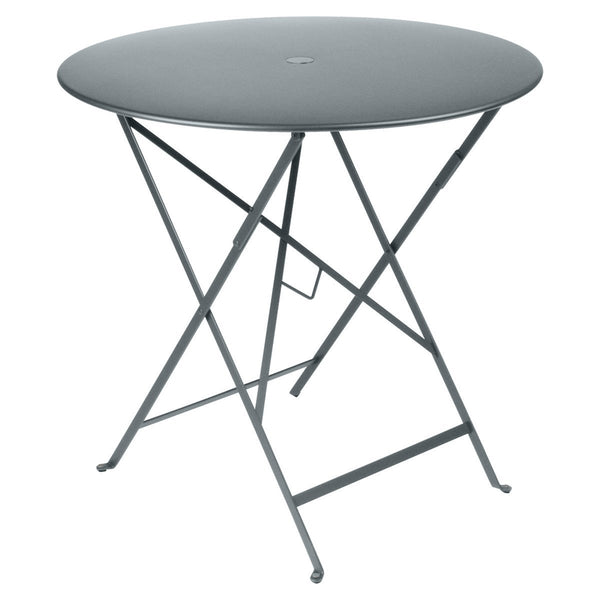 "Fermob - Bistro Folding Round Table - Storm Grey / 30"" - Lekker Home"