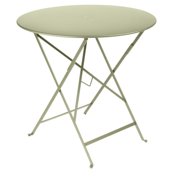 "Fermob - Bistro Folding Round Table - Willow Green / 30"" - Lekker Home"