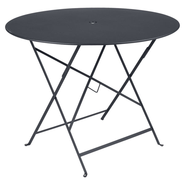 "Fermob - Bistro Folding Round Table - Anthracite / 38"" - Lekker Home"