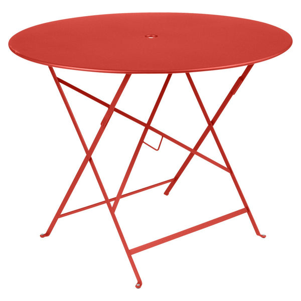 "Fermob - Bistro Folding Round Table - Capucine / 38"" - Lekker Home"
