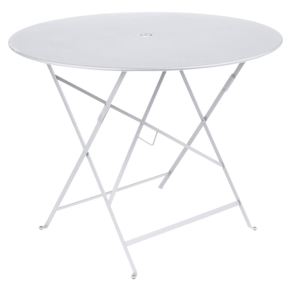 "Fermob - Bistro Folding Round Table - Cotton White / 38"" - Lekker Home"