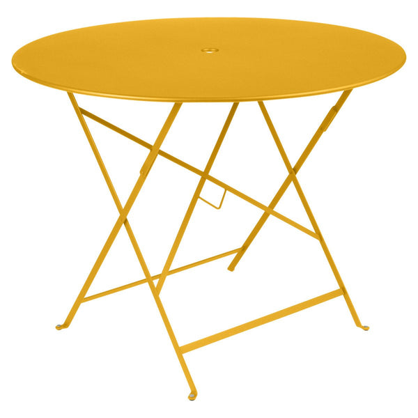 "Fermob - Bistro Folding Round Table - Honey / 38"" - Lekker Home"