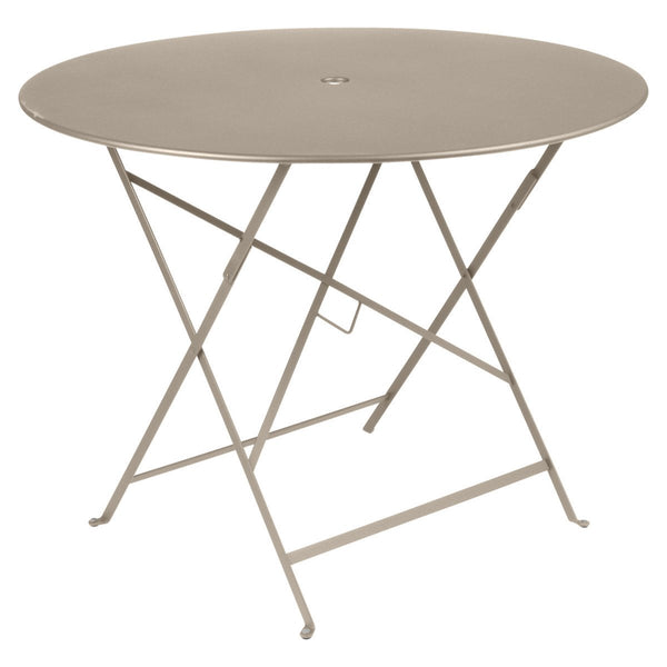 "Fermob - Bistro Folding Round Table - Nutmeg / 38"" - Lekker Home"