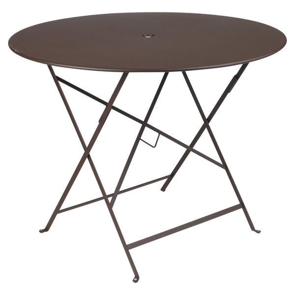 "Fermob - Bistro Folding Round Table - Russet / 38"" - Lekker Home"
