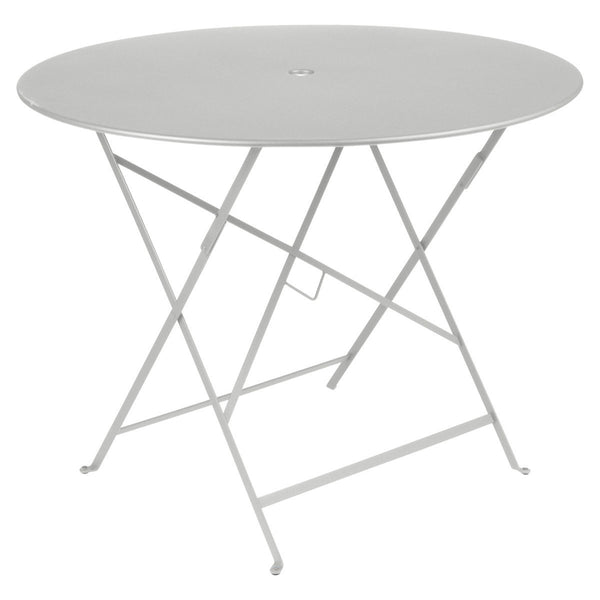 "Fermob - Bistro Folding Round Table - Steel Grey / 38"" - Lekker Home"