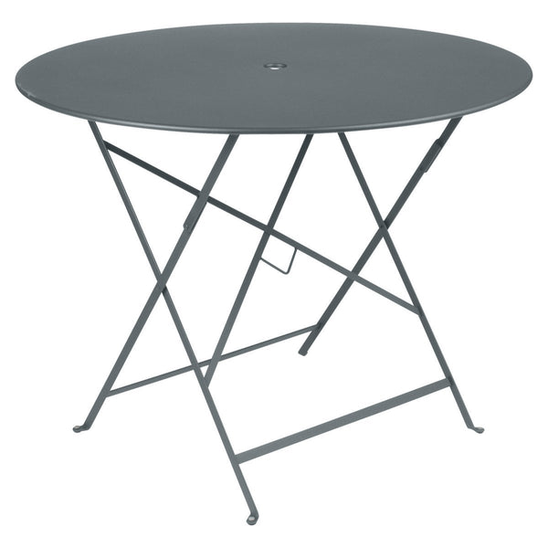 "Fermob - Bistro Folding Round Table - Storm Grey / 38"" - Lekker Home"