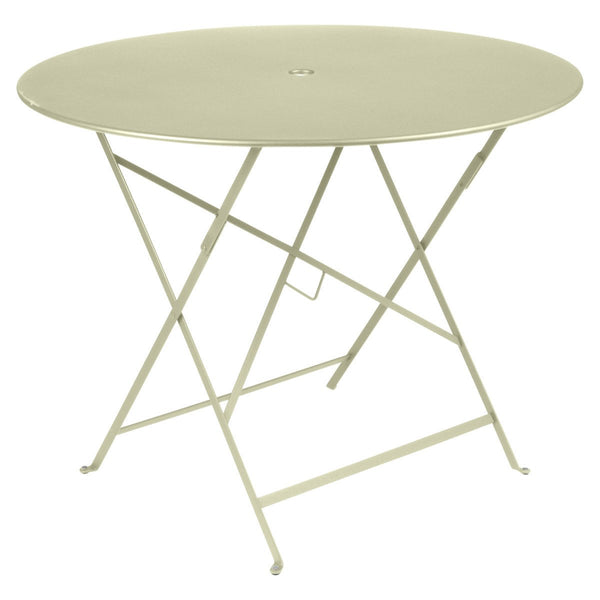 "Fermob - Bistro Folding Round Table - Willow Green / 38"" - Lekker Home"