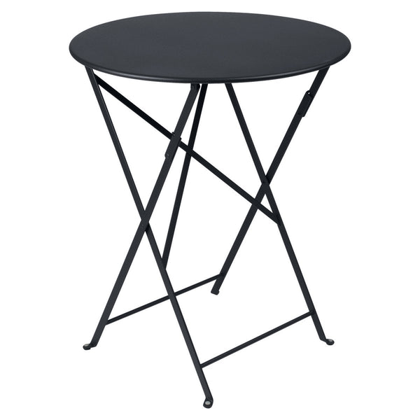 "Fermob - Bistro Folding Round Table - Anthracite / 24"" - Lekker Home"
