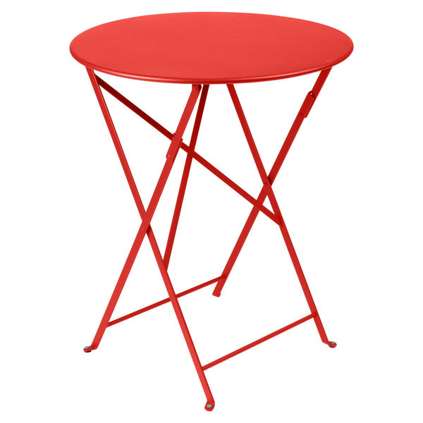 "Fermob - Bistro Folding Round Table - Capucine / 24"" - Lekker Home"