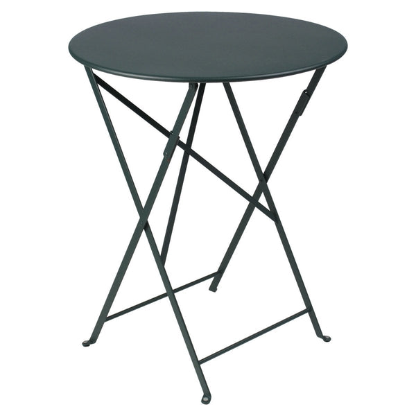 "Fermob - Bistro Folding Round Table - Cedar Green / 24"" - Lekker Home"