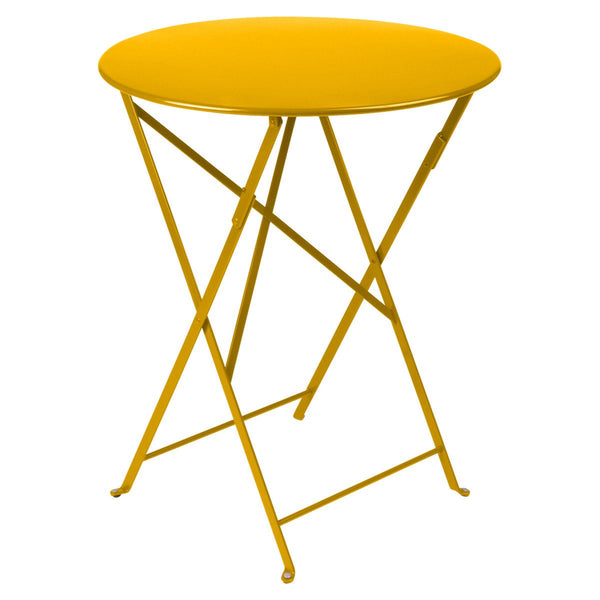 "Fermob - Bistro Folding Round Table - Honey / 24"" - Lekker Home"