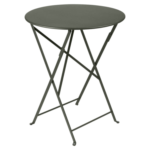 "Fermob - Bistro Folding Round Table - Rosemary / 24"" - Lekker Home"
