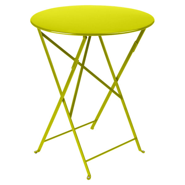 "Fermob - Bistro Folding Round Table - Verbena / 24"" - Lekker Home"