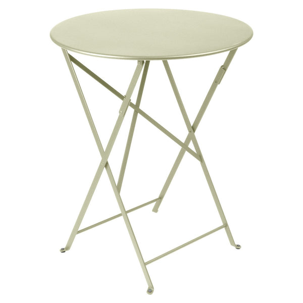 "Fermob - Bistro Folding Round Table - Willow Green / 24"" - Lekker Home"