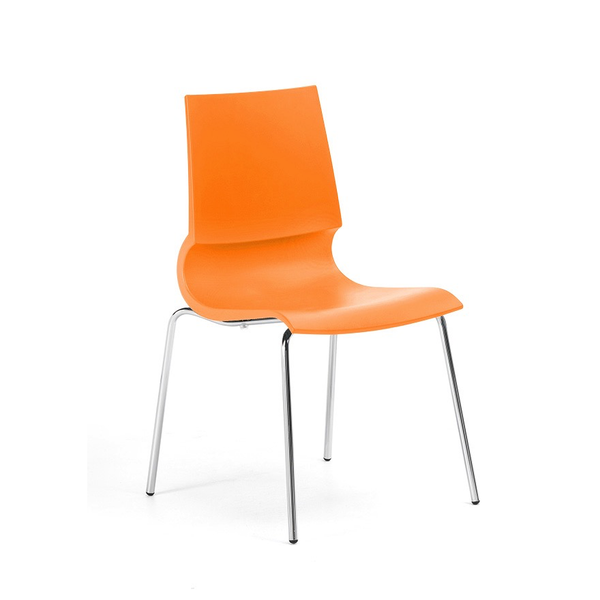 Knoll - Gigi® Armless Stacking Chair - Lekker Home - 11