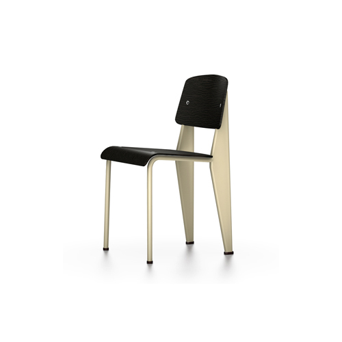 Vitra - Standard Chair - Ecru / Dark Oak - Lekker Home