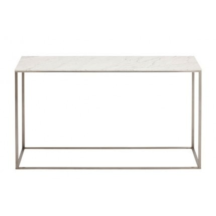Blu Dot - Minimalista Console Table - Walnut / Black - Lekker Home