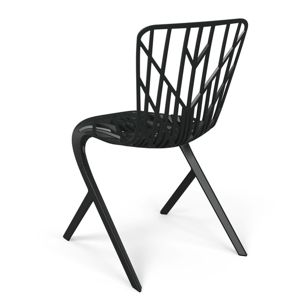 Knoll - Washington Skeleton™ Aluminum Side Chair - Lekker Home - 3