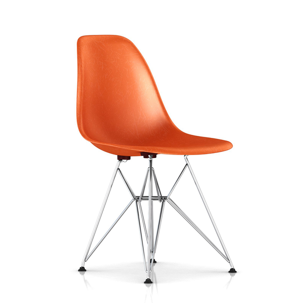 Herman Miller - Eames® Molded Fiberglass Side Chair - Wire Base - Lekker Home - 21