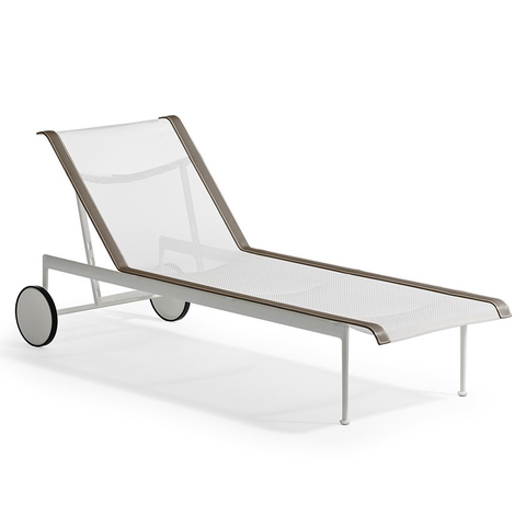 Knoll - 1966 Adjustable Chaise - Onyx/Onyx / One Size - Lekker Home