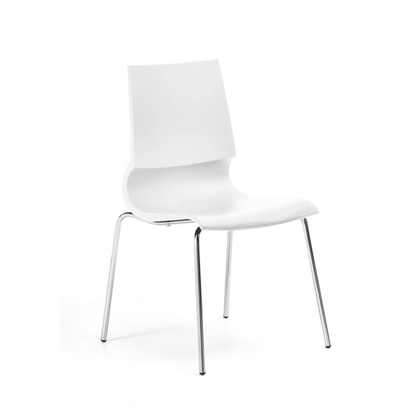 Knoll - Gigi® Armless Stacking Chair - Lekker Home - 5