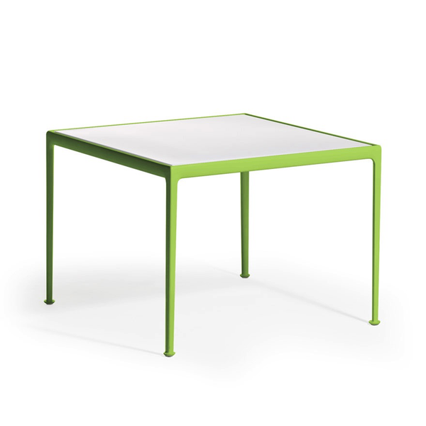 Knoll - 1966 Dining Table - Lime Green/White / Square - Lekker Home