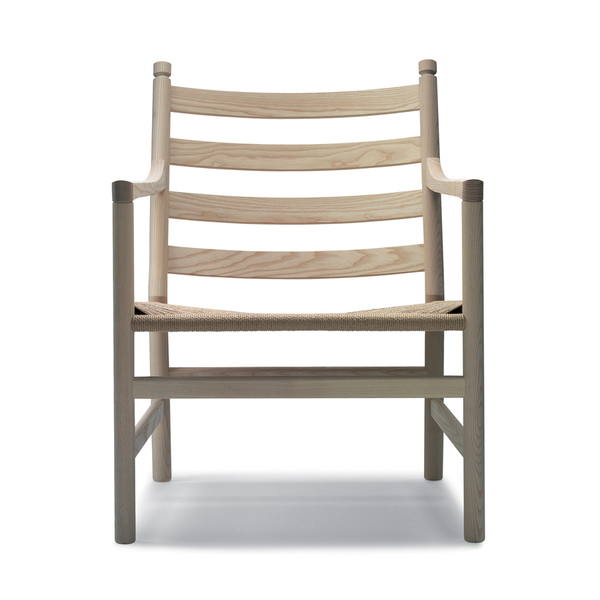Carl Hansen - CH44 Lounge Chair - Soap / Natural Paper Cord - Lekker Home