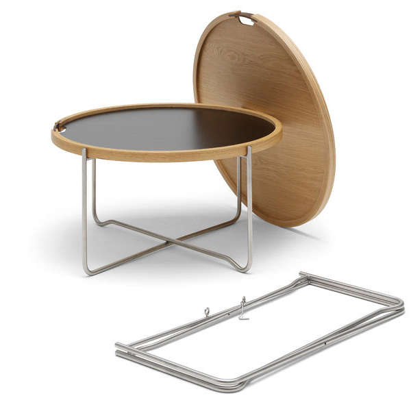 Carl Hansen - CH417 Tray Table - Lekker Home - 2