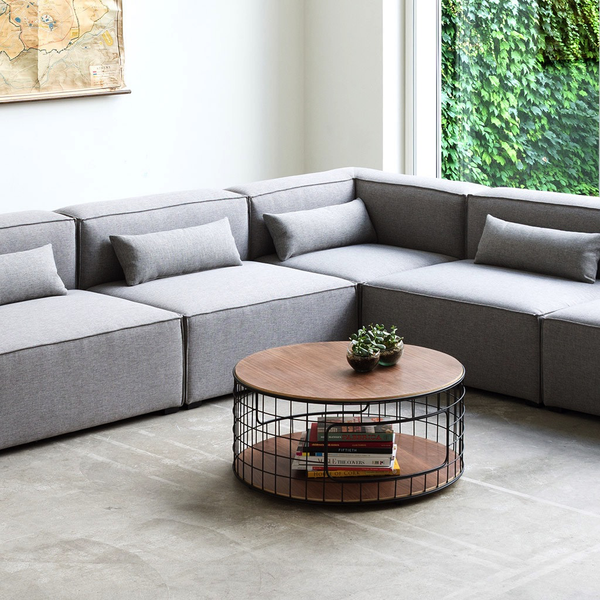 Gus Modern - Mix Modular 5 Piece Sectional - Lekker Home - 3