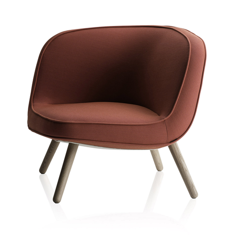 Fritz Hansen - VIA57™ Lounge Chair - Lekker Home