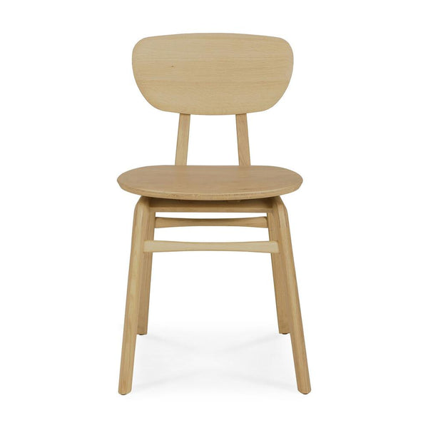 Ethnicraft NV - Oak Pebble Dining Chair - Lekker Home