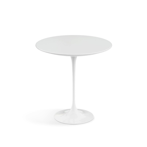 "Knoll - Saarinen Side Table 20"" Round - Lekker Home - 13"